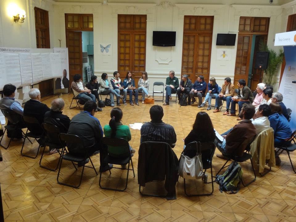 Círculo de Cierre del Open Space en la Facultad de Economía y Empresa de la UDP (Foto: P. Huerta)
