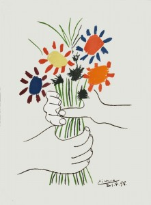 picasso-mano-con-ramo-de-flores